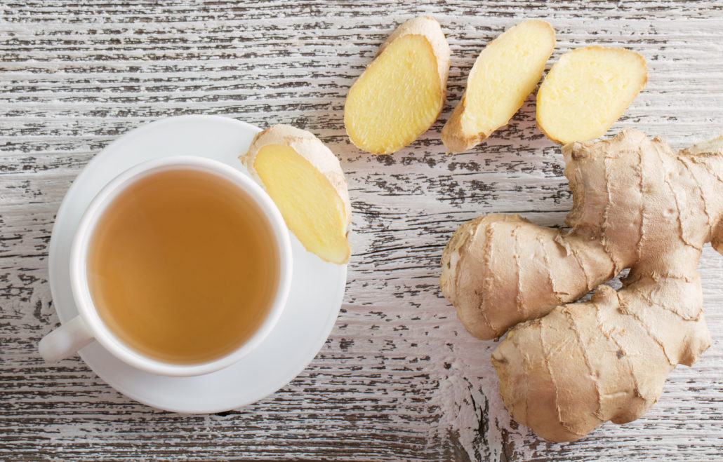 Rooibos and Ginger Tea
