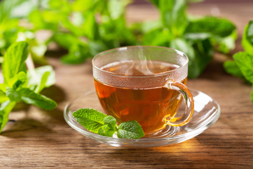 Rooibos and Mint Tea