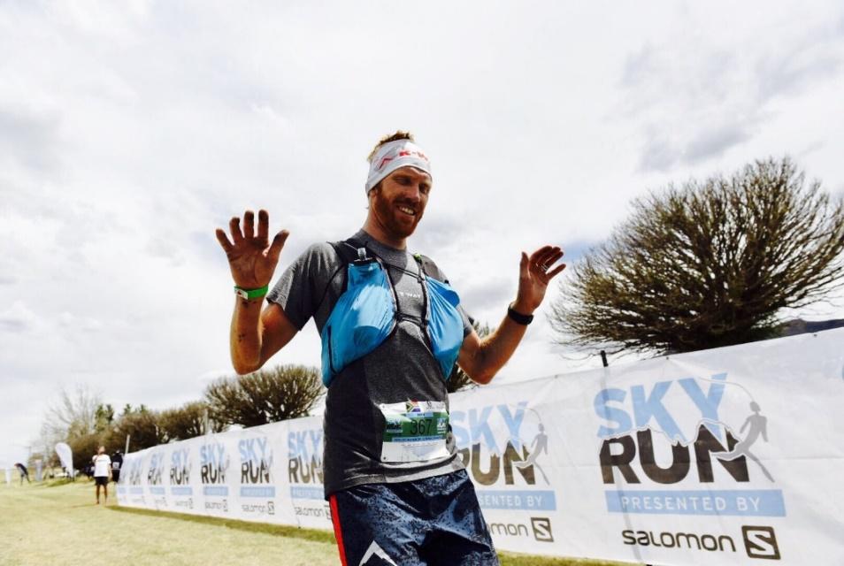 SA ultra-trail running champion, AJ Calitz.