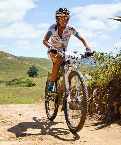 Elite SA athlete, Hannele Steyn.